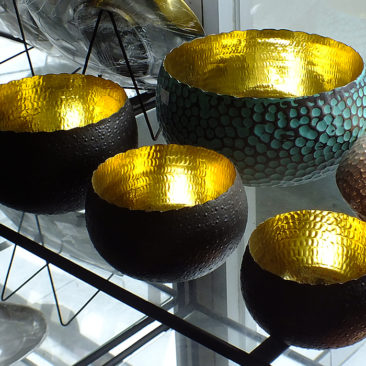 Copper bowls from Bali