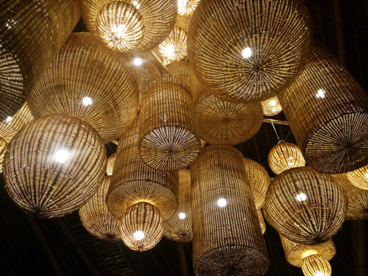 Rattan Ceiling lighting from Bali Indonesia