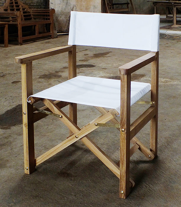 foldable chair white