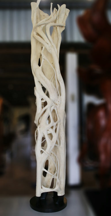 white strangler fig decorative root from Bali