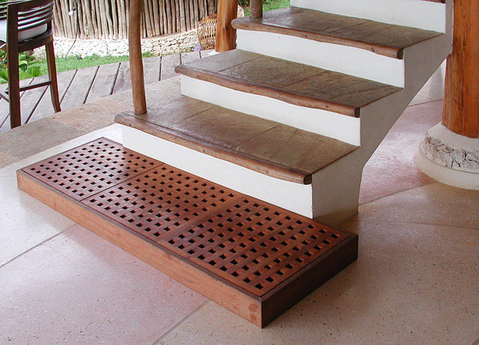 Teak Design duckboard for indoor use Bayu International Trading