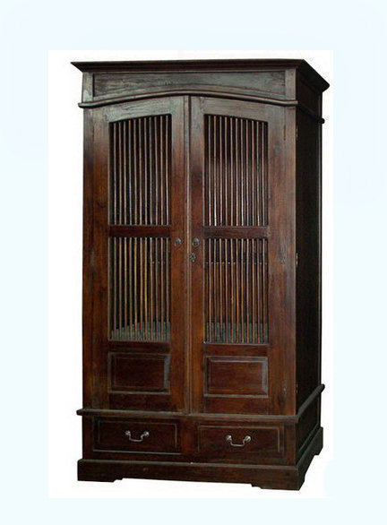 old teak wardrobe close antique style bayu trading international