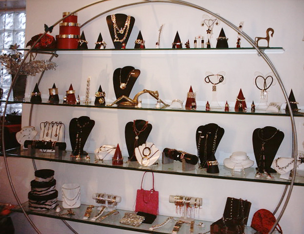 circel display stand for jewelry