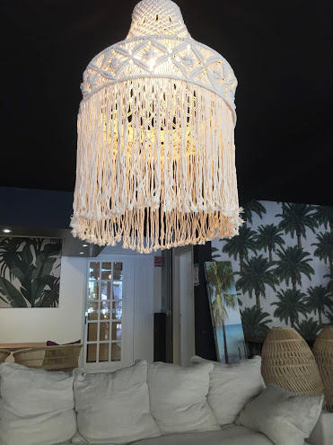 macrame suspension lamp bayu international trading
