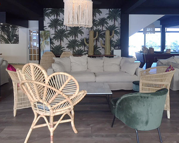 rattan chairs and sofa from Bali