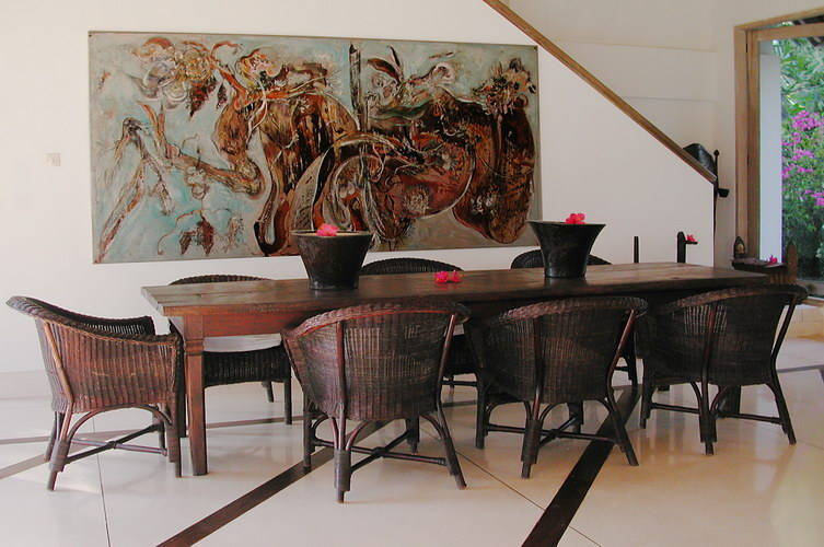 dining furniture made from teak in Indonesia Bali