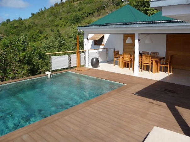 Outdoor swimmingpool decking merbau wood bayu international trading