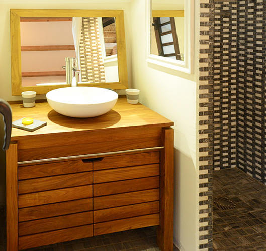 Bathroom furniture minimalist teak furniture