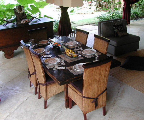 Dining furniture by bayu trading