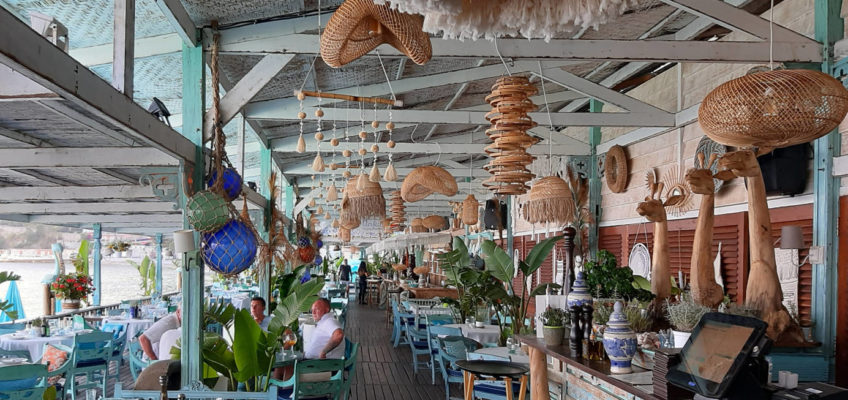 Lighting and hanging decoration for restaurants