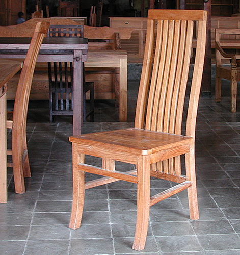 dining chair made from teak wood