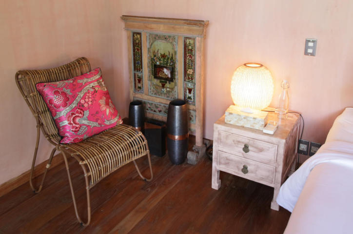 nightstand and decoration