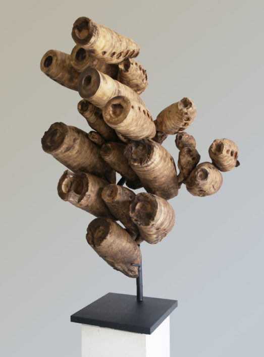 Decorative root on stand made from Bambu