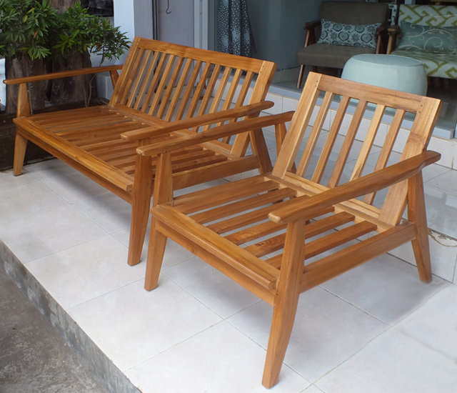 outdoor lounge set chair and couch by bayu trading from Bali