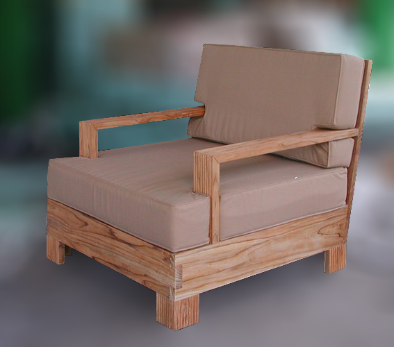 outdoor chair brown