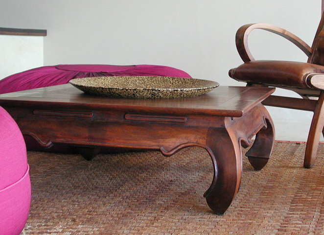 beautiful hand crafted coffee table made out of wood