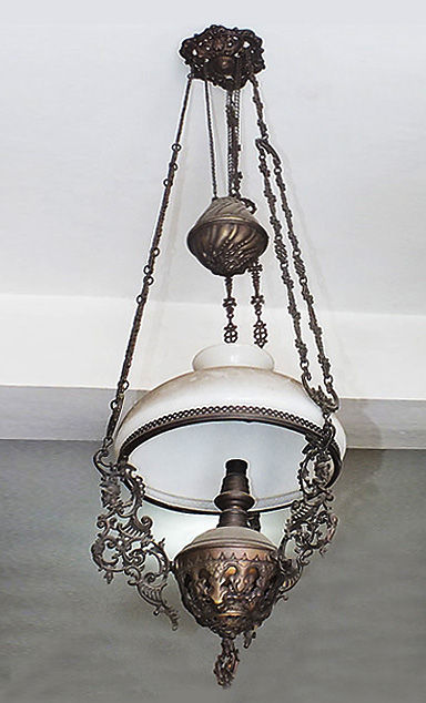 flass and bronse traditional javanese suspension