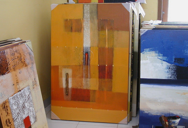 Abstract Painting from Bali