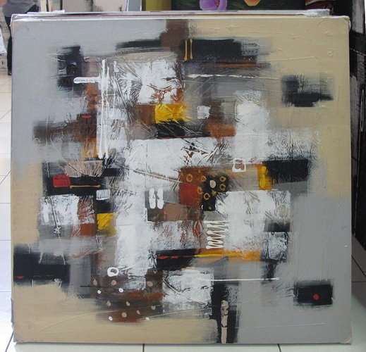 Abstract Painting from Bali sourced by Bayutrading