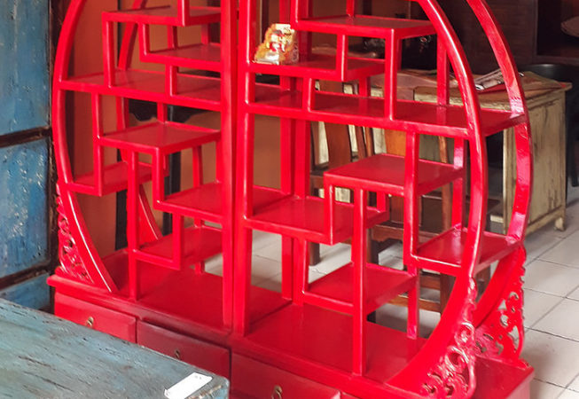 red double round chinese rack bayutrading
