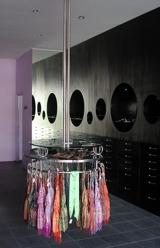 Jewelry furniture and suspension clothing rack